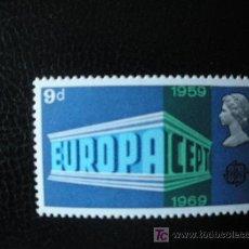 Selos: GRAN BRETAÑA 1969 IVERT 562 *** EUROPA - 10 ANIV. CONFERENCIA EUROPEA CORREOS Y TELECOMUNICACIONES. Lote 16388212