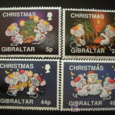 Sellos: GIBRALTAR 1993 IVERT 688/91 *** NAVIDAD. Lote 17562082