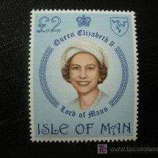 Sellos - Isla de Man 1981 Ivert 191 *** Serie Básica - Reina Elisabeth II - Casa Real - 25863373