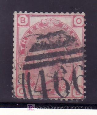 GRAN BRETAÑA 51 PLANCHA 17 USADA, (Sellos - Extranjero - Europa - Gran Bretaña)