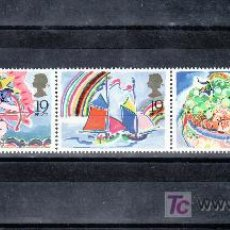 Sellos: GRAN BRETAÑA 1367/71 DE CARNET SIN CHARNELA, DILO CON SELLOS, SELLOS DE SALUDOS . Lote 20561931