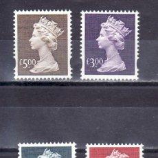 Sellos: GRAN BRETAÑA 2083/6 SIN CHARNELA, ISABEL II. Lote 20474725