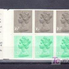 Sellos: GRAN BRETAÑA 1076A (I) CARNET, AÑO MAYO 1983, POSTAL HISTORY 9. Lote 20745154