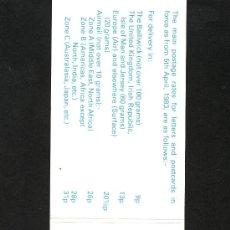 Sellos: GRAN BRETAÑA-GUERNESEY 171 CARNET COMPUESTO POR (180(5), 171(2), 176(3)) SIN CHARNELA, MONEDAS. Lote 21129513