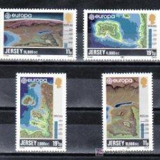 Sellos: GRAN BRETAÑA-JERSEY 272/5 SIN CHARNELA, TEMA EUROPA, HECHOS HISTORICOS. Lote 20798163