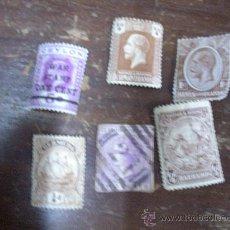 Sellos: LOTE DE 6 SELLOS ANTIGUOS DE COLONIAS BRITANICAS. Lote 21928499