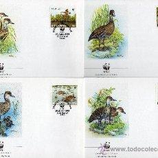 Sellos: BAHAMAS AÑO 1988 YV 659/62 MI 672/75 - SPD - WWF - CONSERVACIÓN DE LA FAUNA - AVES - PATOS. Lote 27253319