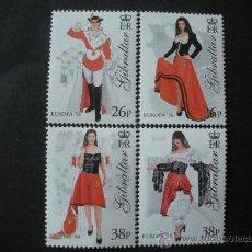 Sellos: GIBRALTAR 1998 IVERT 835/8 *** EUROPA - FIESTAS NACIONALES. Lote 25609572