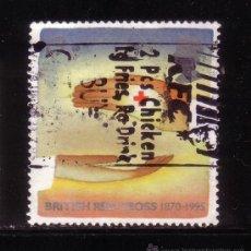 Sellos: GRAN BRETAÑA 1821 - AÑO 1995 - 125º ANIVERSARIO DE LA CRUZ ROJA BRITANICA. Lote 32290011