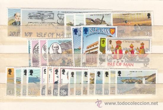 GRAN BRETAÑA-MAN 215/44 SIN CHARNELA, AÑO 1983 VALOR CAT 25.40 € + (Sellos - Extranjero - Europa - Gran Bretaña)