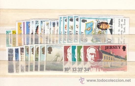 GRAN BRETAÑA-JERSEY 336/65 SIN CHARNELA, AÑO 1985 VALOR CAT 36.50 € + (Sellos - Extranjero - Europa - Gran Bretaña)