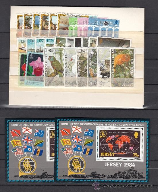GRAN BRETAÑA-JERSEY 308/35, HB 3 SIN CHARNELA, AÑO 1984 VALOR CAT 40.75 € + (Sellos - Extranjero - Europa - Gran Bretaña)