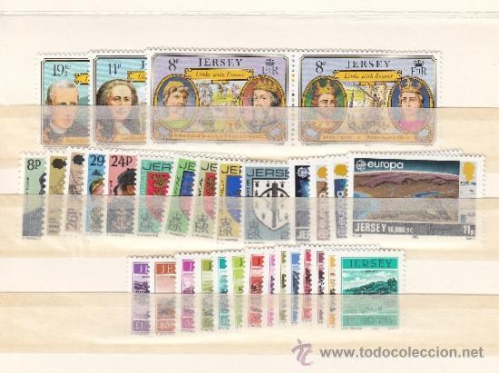 GRAN BRETAÑA-JERSEY 267/86, TASA 33/46 SIN CHARNELA, AÑO 1982 VALOR CAT 38.15 € + (Sellos - Extranjero - Europa - Gran Bretaña)
