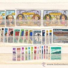 Sellos: GRAN BRETAÑA-JERSEY 267/86, TASA 33/46 SIN CHARNELA, AÑO 1982 VALOR CAT 38.15 € +. Lote 33125442