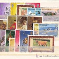 Sellos: GRAN BRETAÑA-JERSEY 186/205 SIN CHARNELA, AÑO 1979 VALOR CAT 11.25 €+. Lote 33125505