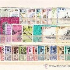 Sellos: GRAN BRETAÑA-JERSEY 167/85 SIN CHARNELA, AÑO 1978 VALOR CAT 21.55 € +. Lote 33125522