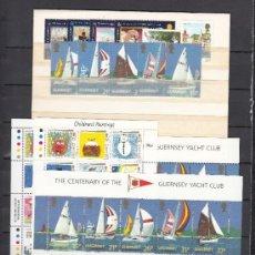 Sellos: GRAN BRETAÑA-GUERNESEY 518/55, HB 13/4 SIN CHARNELA, AÑO 1991 VALOR CAT 57.25 € +. Lote 33125602