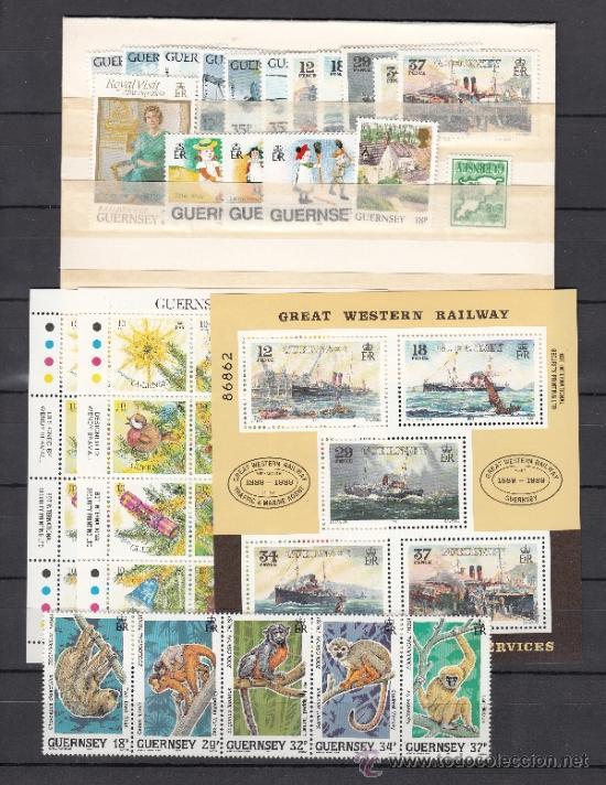 GRAN BRETAÑA-GUERNESEY 450/83, HB 9/10 SIN CHARNELA, AÑO 1989 VALOR CAT 56.70 € + (Sellos - Extranjero - Europa - Gran Bretaña)