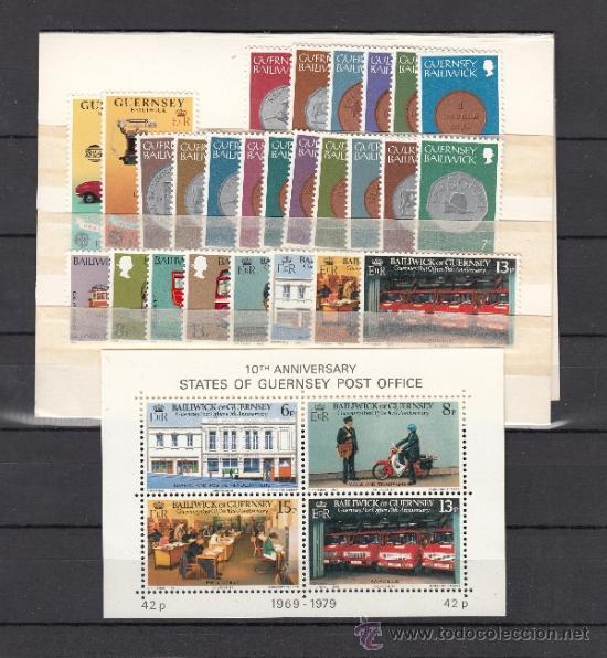 GRAN BRETAÑA-GUERNESEY 168/93, HB 2 SIN CHARNELA, AÑO 1979 VALOR CAT 12.85 € + (Sellos - Extranjero - Europa - Gran Bretaña)