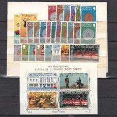 Sellos: GRAN BRETAÑA-GUERNESEY 168/93, HB 2 SIN CHARNELA, AÑO 1979 VALOR CAT 12.85 € +. Lote 33135709