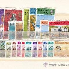 Sellos: GRAN BRETAÑA-GUERNESEY 140/51, TASA 18/27 SIN CHARNELA, AÑO 1977 VALOR CAT 10.75 € +. Lote 33135749