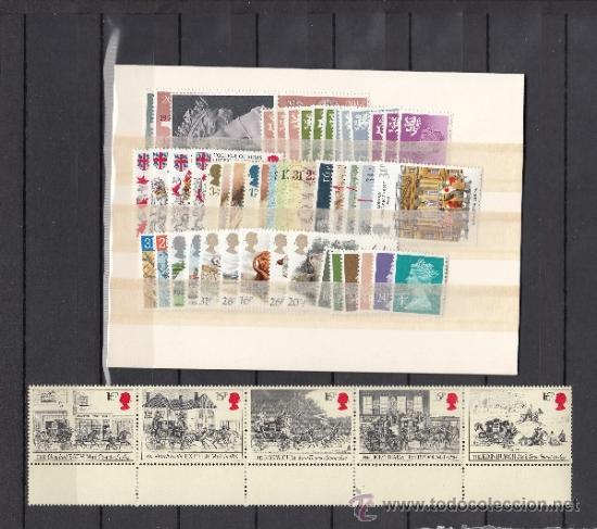GRAN BRETAÑA 1113/67 SIN CHARNELA, AÑO 1984 VALOR CAT 102.25 € + (Sellos - Extranjero - Europa - Gran Bretaña)