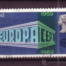 Sellos: GRAN BRETAÑA 562 - AÑO 1969 - EUROPA. Lote 33604059