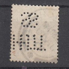 Sellos: ,,PERFORADO .GRAN BRETAÑA T H / S DOBLE PERFORACION SELLO TIPO 1902-10 ANIVº LLEGADA EDUARDO VII . Lote 35016823