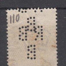 Sellos: ,,PERFORADO .GRAN BRETAÑA R B / B DOBLE PERFORACION SELLO TIPO 1902-10 ANIVº LLEGADA EDUARDO VII . Lote 35039011