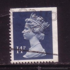Sellos: GRAN BRETAÑA 1328E - AÑO 1989 - REINA ISABEL. Lote 36265351