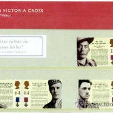Sellos: GB 2006 VICTORIA CROSS PRESENTATION PACK SG 2659-64 MI 2440-45 SC 2394-99 IV 2794-99. Lote 38222826