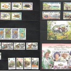 Sellos: SELLOS DE GRAN BRETAÑA INGLATERRA ISLAS DEL CANAL JERSEY GUERNSEY ALDERNEY. Lote 41315798