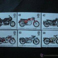 Sellos: GRAN BRETAÑA 2005 IVERT 2661/6 *** MOTOCICLETAS - MOTOS. Lote 41391023