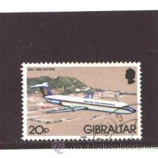 Sellos: GIBRALTAR 1982 - YVERT NRO. 448 - USADO. Lote 42758805