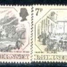Sellos: GUERNESEY. 152/55 GRABADOS ANTIGUOS**. 1978. SELLOS NUEVOS Y NUMERACIÓN YVERT.. Lote 43131460