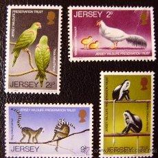 Sellos: JERSEY - IVERT 43/46 NUEVOS *** SIN CHARNELA ( EL VALOR DE 2P SIN GOMA ). Lote 43790997