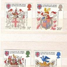 Sellos: GRAN BRETAÑA & BRAZÕES BRITANICOS 1984 (1113). Lote 44002878
