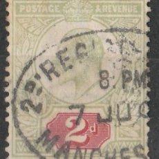 Sellos: GRAN BRETAÑA. 1902-10. IVERT # 109. * .MH .. Lote 47495391