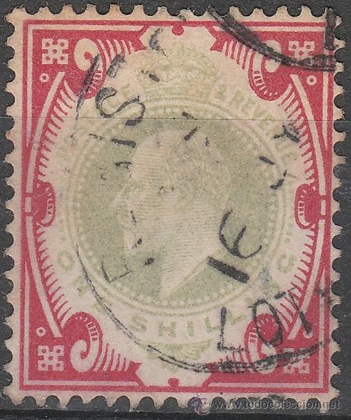 GRAN BRETAÑA. 1902-1910. IVERT # 117 * .MH . (Sellos - Extranjero - Europa - Gran Bretaña)