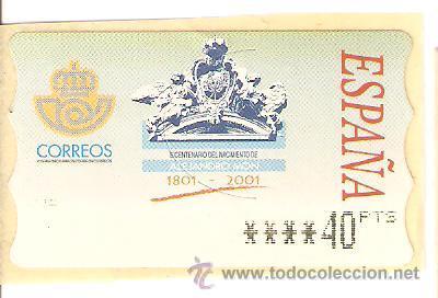 LOTE J-SELLOS SELLO ATM AÑO 2001 NUEVO (Sellos - Extranjero - Europa - Gran Bretaña)