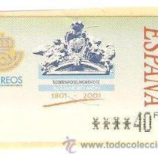 Sellos: LOTE J-SELLOS SELLO ATM AÑO 2001 NUEVO. Lote 47663173