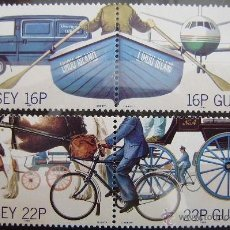 Sellos: GUERNESEY- IVERT Nº 419/22 SELLOS NUEVOS (**) - EUROPA CEPT 1988 -. Lote 48109156