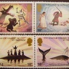 Sellos: JERSEY - IVERT 247/60 SELLOS NUEVOS (**) - EUROPA CEPT 1981 - LEYENDAS ROMANTICAS. Lote 48443718
