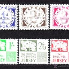 Sellos: JERSEY TASA 1/6** - AÑO 1969 - MAPAS. Lote 48473672