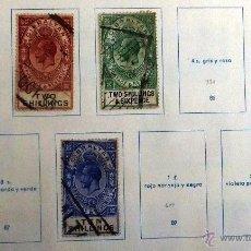 Sellos: SELLOS GIBRALTAR 1921-1930. TIPO H. USADOS CON CHARNELA. UNO NUEVO (82).. Lote 48826793
