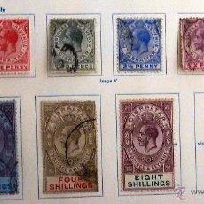 Sellos: SELLOS GIBRALTAR 1912. 10 VALORES CON CHARNELA. 7 USADOS. VER FOTO ADICIONAL.. Lote 48827263