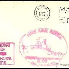 Sellos: GRAN BRETAÑA PORTAAVIONES H.M.S. ARK ROYAL 1994. Lote 5701878