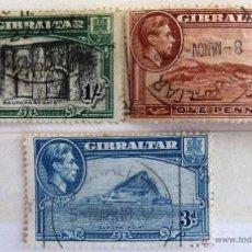 Sellos: SELLOS GIBRALTAR 1938. USADOS.. Lote 49954991