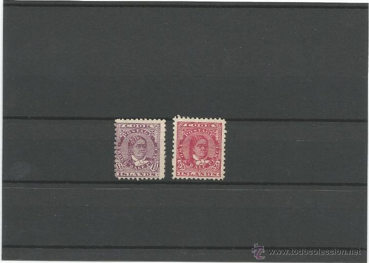 1893 - ISLAS COOK - OCEANIA (Sellos - Extranjero - Europa - Gran Bretaña)