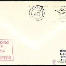 Sellos: GRAN BRETAÑA SUBMARINO HMS SUPERB 1994. Lote 6276533